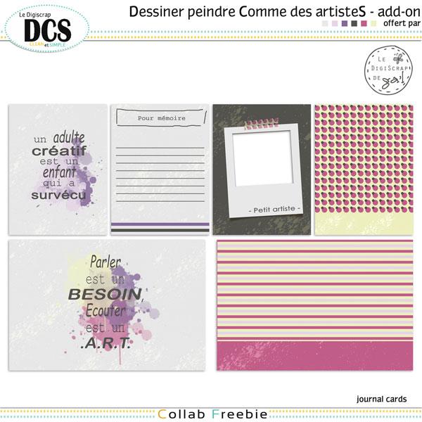 Ga'L-DCS-Dessiner-et-peindre-Comme-des-artisteS-[journal-cards]